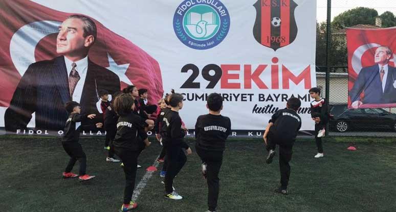 Çocukların sağlıklı gelişimleri için spor şart