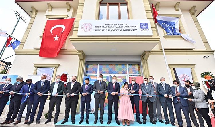 Türkiye'nin En Gelişmiş En Kapsamlı Otizm Merkezi Üsküdar'da Açıldı