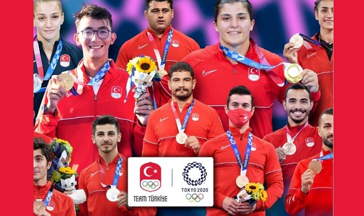 2020 Tokyo Olimpiyatları'nda Rekor Madalya
