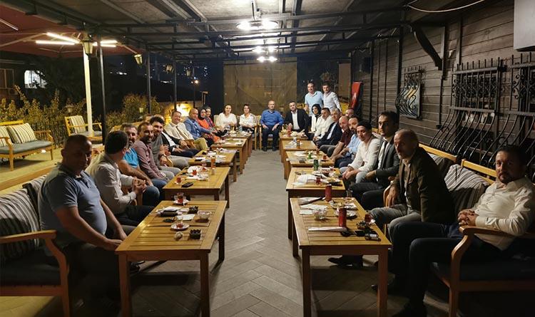 Trabzon Dernek Başkanları Üsküdar'da Buluştu